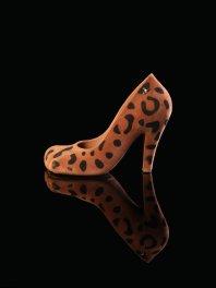 Melissa - V.W. Anglomania + Melissa Animal Toe Flocked Beige/B..