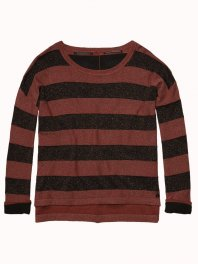 Maison Scotch Boxy Fit Knitted Sweater Combo B