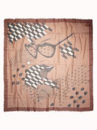 Maison Scotch Super Soft Scarf Cinamon