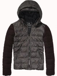 Maison Scotch Short Down Jacket Combo A