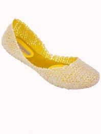 Melissa - Campana Papel V Yellow/Glitter