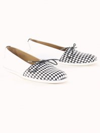 Royal RepubliQ Muanza Loafer - Harlequin Black & White