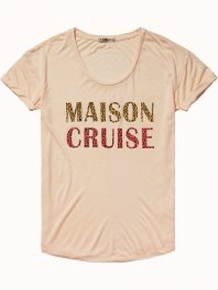 Maison Scotch Relax fit logo tee Combo 23