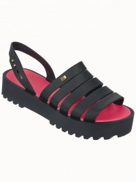 Melissa Creatives Flat Black / Pink