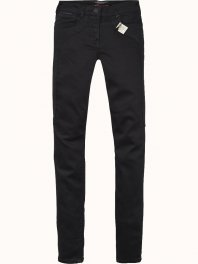 Maison Scotch Skinny pant in new super soft peached quality Black