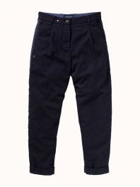 Maison Scotch Carrot Fit Chino - Winter Escape Navy
