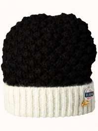 Maison Scotch Beanie with contrast color turn up Combo E