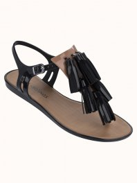 Melissa Solar + Salinas II Black/Brown