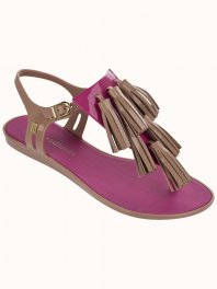 Melissa Solar + Salinas II Brown/Light pink