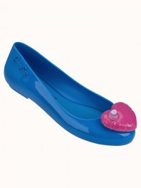 Melissa Melissa Space Love + Jeremy Scott  Blue Pink