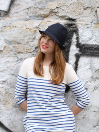 LADA fashion Klobouk HAT 1007 Blue