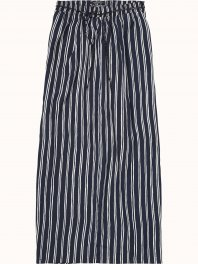 Maison Scotch Printed silky feel maxi skirt, sold with a belt Combo S