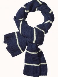 Maison Scotch Home Alone Chunky Knitted Scarf Dessin B