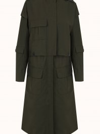 Intropia - Rain-Coat Khaki