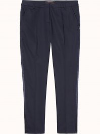 Maison Scotch Tailored pant with stretch & side seam  Navy