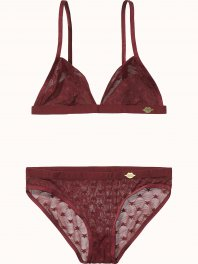 Maison Scotch Bra and panty sets in various mesh quality Combo B
