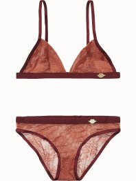 Maison Scotch Bra and panty sets in various mesh quality Combo A