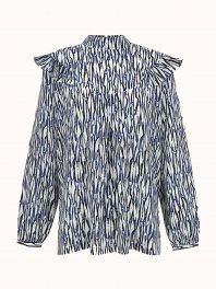 Intropia  Blouse Blue print