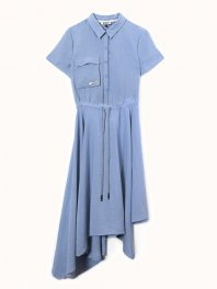 ECOALF Oka Dress Light blue
