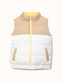 ECOALF Martina Reversible Vest Woman Light yellow