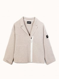 ECOALF Ros Jacket Knit Woman Linen