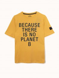 ECOALF Natal Classic Because T-Shirt Man Yellow