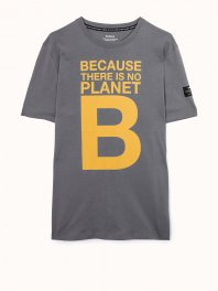 ECOALF Natal Great B T-Shirt Man Dark grey