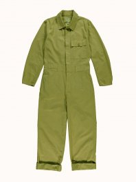 G.o.D. W-Coveralls Ripstop Organic Cot. Olive