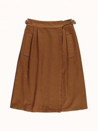 G.o.D. W-Worker Skirt Cotton Twill Tabacco