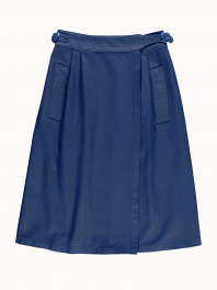 G.o.D. W-Worker Skirt Cotton Twill Indigo
