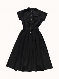 G.o.D. W-Service Dress Cotton Drill Black