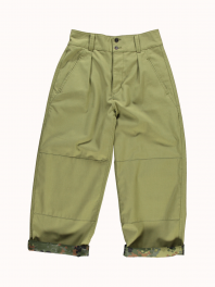 G.o.D. W-Field Chino Forest Camo Olive satin