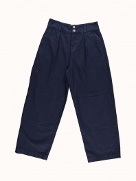G.o.D. W-Field Chino Cotton Twill Indigo