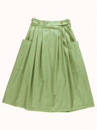 G.o.D. W-Apron Skirt Rip Stop Olive