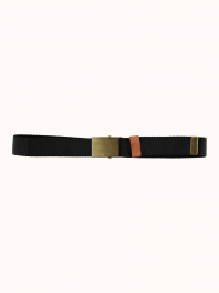 G.o.D. W-Army Belt Canvas Black