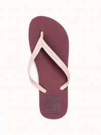 ECOALF Mar Flip Flop Woman Burgundy