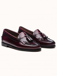 G.H. BASS & CO. WEEJUNS Esther Kiltie Wine Leather