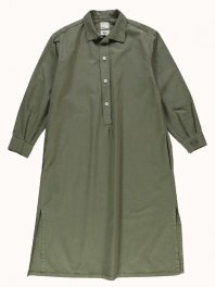 G.o.D. W-Chemise Light Cotton Drill Moss Green