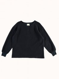 G.o.D. Papillon Long Sleeve Sweater Navy