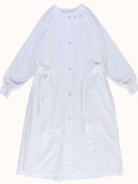 G.o.D. W-Military Robe Ripstop White