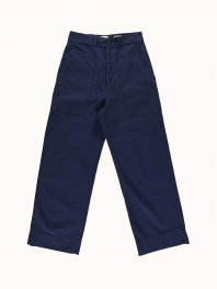 G.o.D. W-Sailor Fatigue Cotton Twill Worker blue