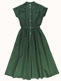 G.o.D. W-Service Dress Cotton Drill Forest green